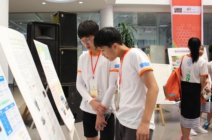 Penutupan acara ilmu pengetahuan Odyssey ASEAN+3 untuk prapemuda kali ke-6 (APT JSO-6) - ảnh 1
