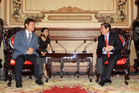 Kota Ho Chi Minh mendorong kerjasama dengan Republik Korea di bidang pendidikan-pelatihan - ảnh 1