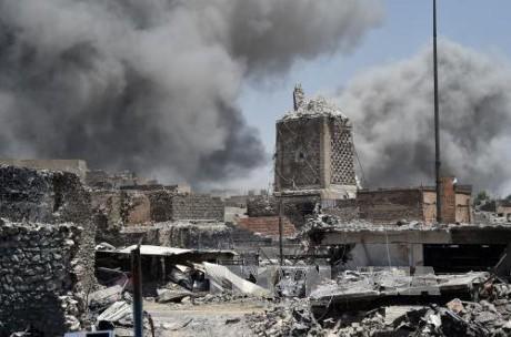 Kekuatan-kekuatan  Irak membasmi lebih dari 30 anasir IS di  Mosul Barat - ảnh 1