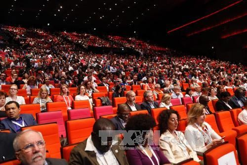 Konferensi Internasional tentang penyakit AIDS di Paris - ảnh 1
