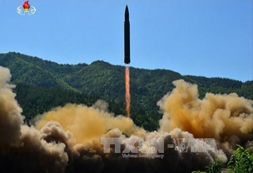 RDRK menegaskan uji coba peluncuran rudal balistik interkontinental - ảnh 1