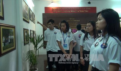 Penutupan perkemahan musim panas  pemuda dan anak diaspora Vietnam-2017 - ảnh 1
