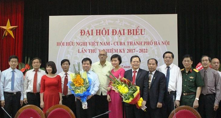 Kongres ke-5   Asosiasi Persahabatan Vietnam-Kuba kota Hanoi - ảnh 1