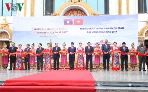 Hari-hari Kota Ho Chi Minh di Vientiane, ibukota Laos - ảnh 1