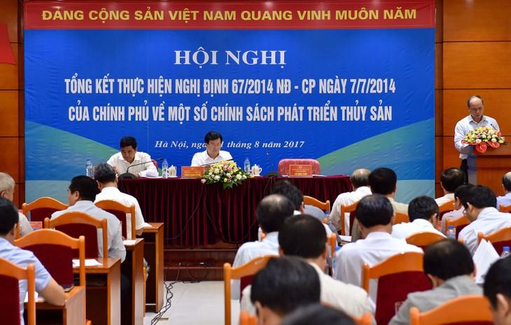 Menyempurnakan   Peraturan Pemerintah nomor 67  agar kaum nelayan  mengarangi laut dan samudera - ảnh 1