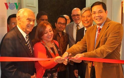 Memperingati ultah ke-50 Hari berdirinya ASEAN di banyak negara - ảnh 1