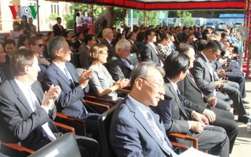 Laos dan Kamboja memperingati ultah ke-50 hari berdirinya ASEAN - ảnh 1
