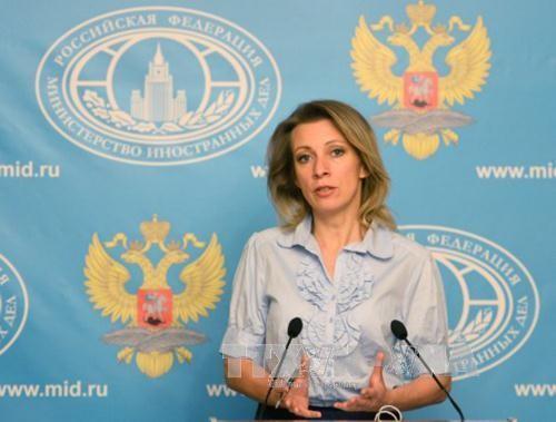 Rusia  memperingatkan akibat  pemcahan atas masalah RDRK dengan langkah militer - ảnh 1