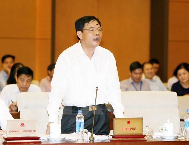 Komite Tetap MN Vietnam angkatan XIV memberikan  pendapat kepada dua RUU - ảnh 1