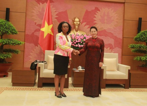 Ketua MN Nguyen Thi Kim Ngan menerima Jaksa Agung Mozambik, Beatriz Buchili - ảnh 1
