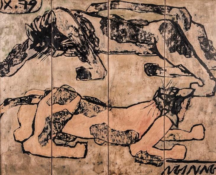 Vietnam,  untuk pertama kalinya,  mempunyai satu karya lukisan senilai lebih  dari  100000 USD - ảnh 1