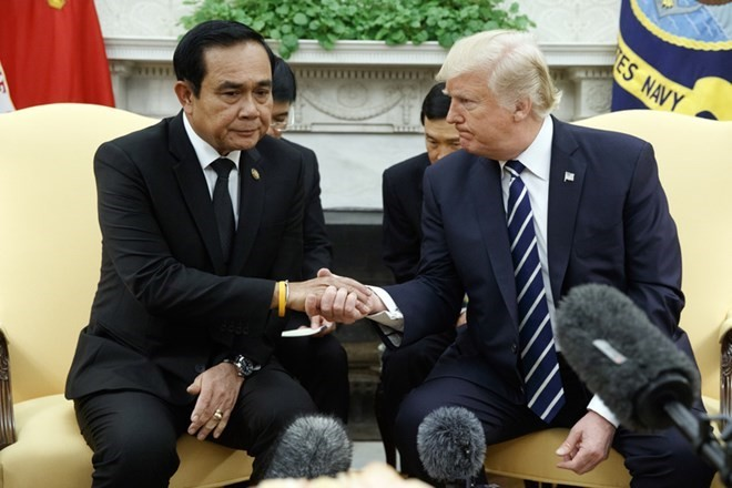AS dan Thailand berseru supaya memecahkan sengketa secara damai di Laut Timur - ảnh 1
