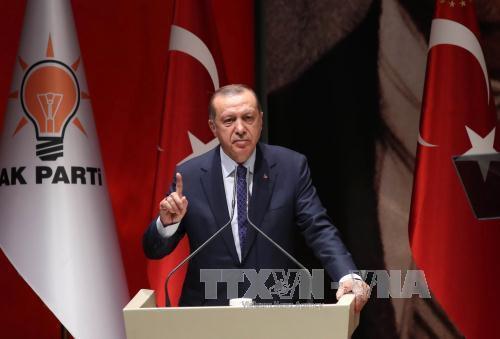 Turki akan menutup pintu  perbatasan  dan wilayah udara dengan Irak bagian utara  - ảnh 1