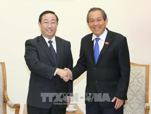 Kementerian Keamanan Publik Vietnam dan Tiongkok memperkuat kerjasama - ảnh 1