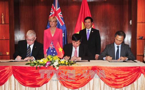 Australia ingin mendorong hubungan kerjasama yang berhasil-guna dengan Vietnam di banyak bidang - ảnh 1