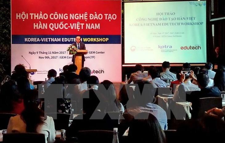 Republik Korea memperhebat investasi di bidang pendidikan-pelatihan di Vietnam - ảnh 1