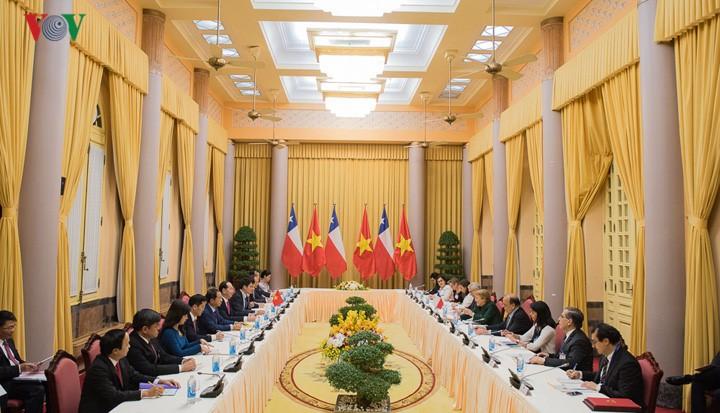 Vietnam dan Cile terus  memperkuat hubungan kerjasama komprehensif - ảnh 1