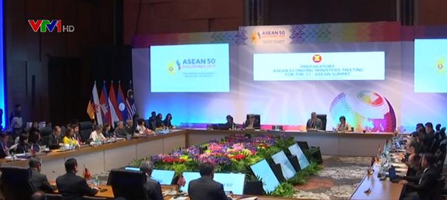 Konferensi tingkat Menlu  untuk persiapan bari  KTT ASEAN kali ke-31 dan semua KTT yang bersangkutan - ảnh 1
