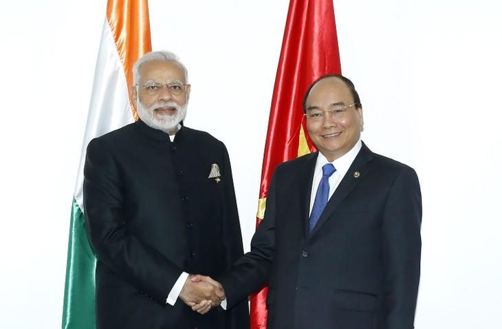 Vietnam dan India mendorong kerjasama bilateral - ảnh 1
