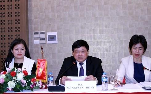 VOV  memperhebat kerjasama dengan Radio Nasional Laos - ảnh 1