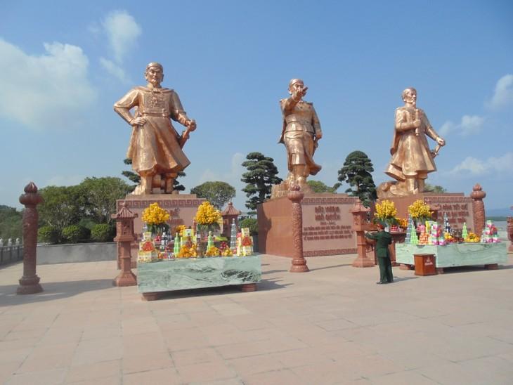 Kesan tentang kompleks situs peninggalan sejarah Bach Dang di kota Hai Phong - ảnh 1