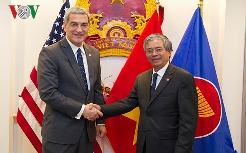 Hubungan antara AS dan ASEAN semakin menjadi praksis - ảnh 1