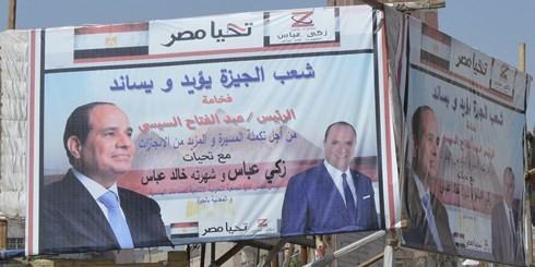 Para pemilih Mesir memberikan suara untuk memilih  Presiden - ảnh 1