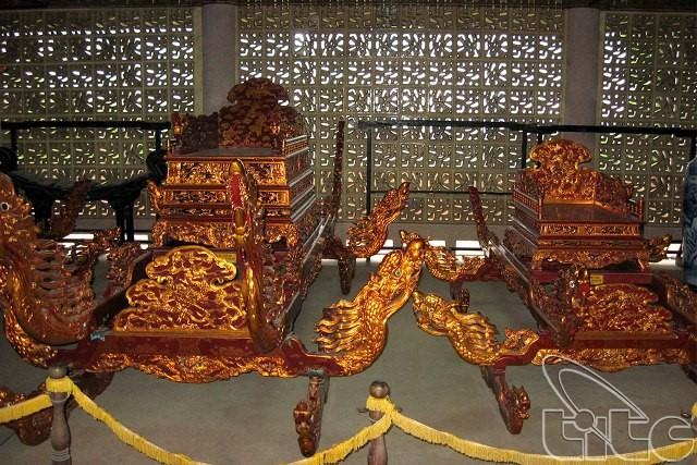 Museum Nasional Raja Hung- tempat melukiskan masa lampau yang heroik dari bangsa Vietnam - ảnh 3