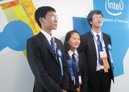 ベトナム学生、ISEFで優勝 - ảnh 1