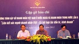 国内外に住むベトナム人実業家による第2回集い - ảnh 1