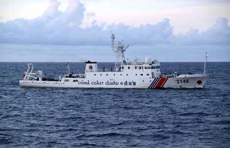 日本、中国船が再び領海侵入と告発 - ảnh 1