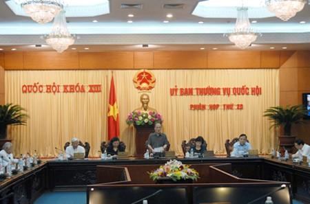外国人法案を含む国会常委会議始まる - ảnh 1