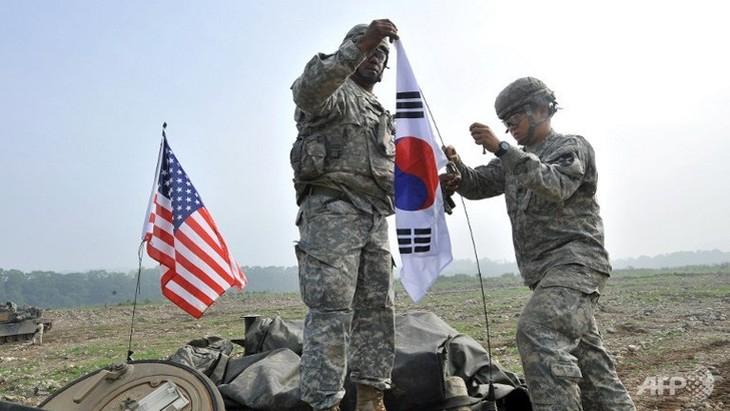 米韓、軍事演習を開始 - ảnh 1