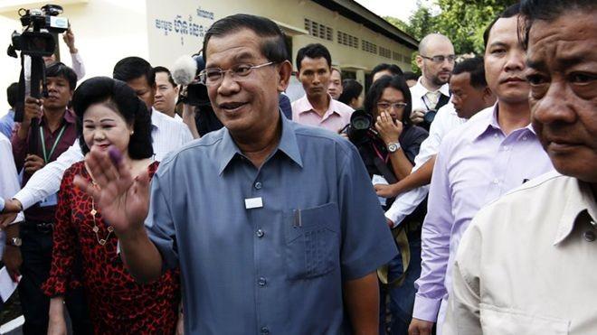 カンボジア与党、野党の告発に反発 - ảnh 1