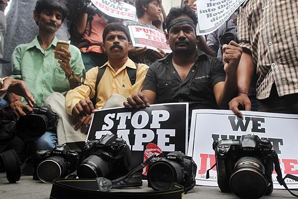 インド、女性ジャーナリストが5人に暴行 - ảnh 1