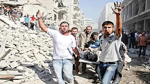 シリア 市民に緊張高まる - ảnh 1