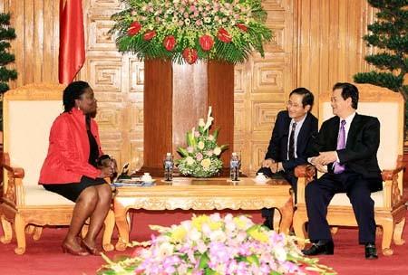 ズン首相、WBベトナム事務所長と会合 - ảnh 1