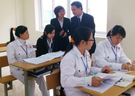 日本へ派遣される看護師教育活動 - ảnh 1