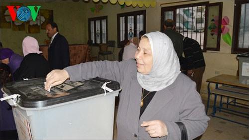 エジプト 大統領選の先行実施を発表 - ảnh 1
