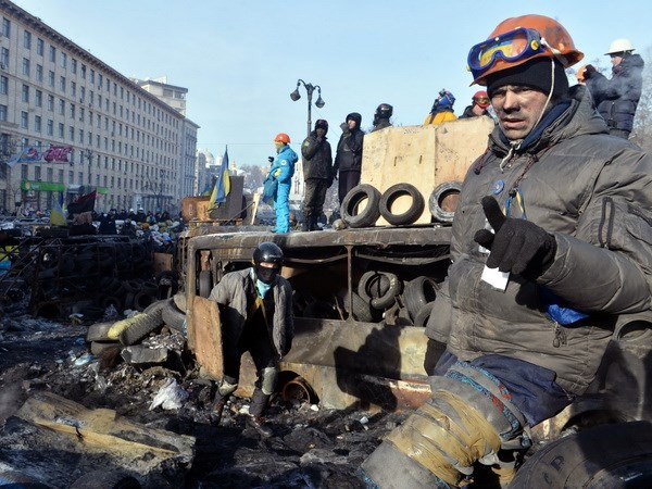 ウクライナ政府の妥協案審議へ - ảnh 1