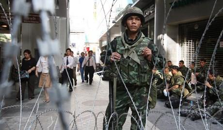 タイ、選挙実施で緊張高まる - ảnh 1
