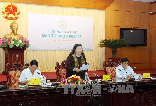 IPU総会組織委員会、全体会議開催 - ảnh 1