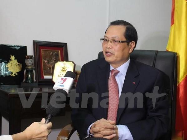 ミン大使、ベトナムとSGPとの関係を評価 - ảnh 1