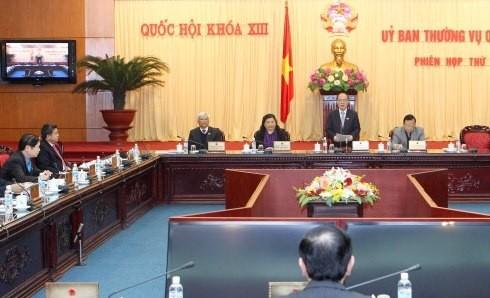 国会常委、人民評議会選挙法案を討議 - ảnh 1