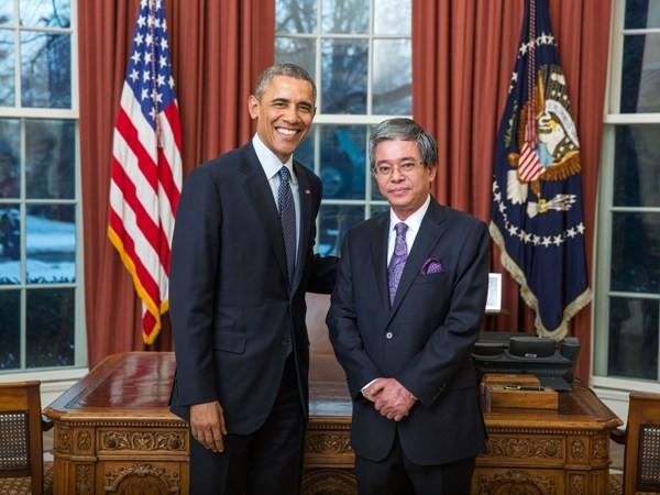 米大統領、米越関係を新しい発展段階に押し上げる - ảnh 1