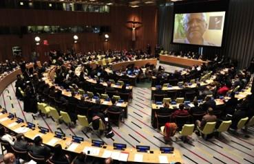 国連総会、第2次世界大戦終結70周年記念決議を採択 - ảnh 1