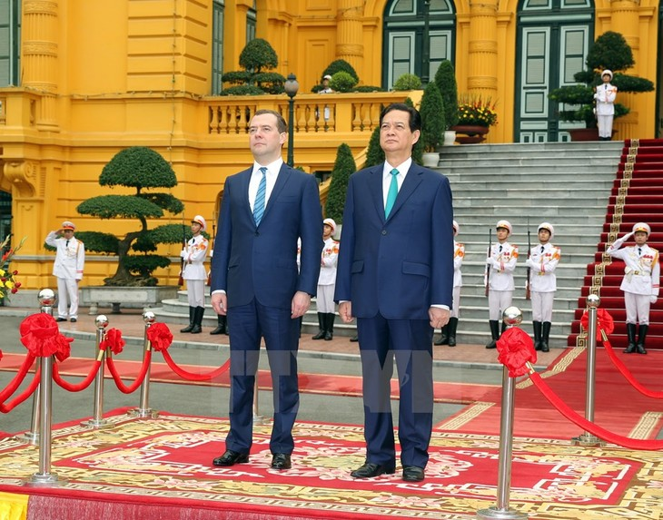 ベトナム・ロシア両首相、会談 - ảnh 1