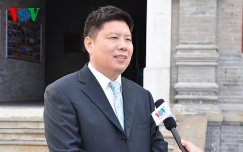 中国科学者、チョン書記長の中国訪問を評価 - ảnh 1