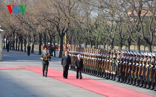 チョン書記長、中国公式訪問(2) - ảnh 1