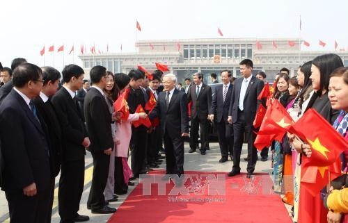 チョン書記長、中国訪問を終える - ảnh 1